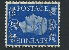 GB George VI  SG 466a Fine Used wmk sideways
