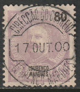 Lourenco Marques 1900 Sc 43 used CDS