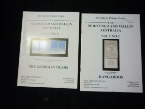 2 SCRIVENER AND MALLIN AUSTRALIA PRIVATE TREATY SALE CATALOGUES