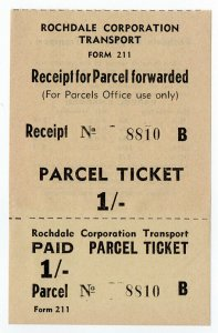 (I.B) Cinderella : Private Carrier - Rochdale Corporation Parcel 1/-