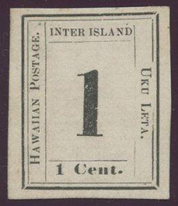 US Hawaii Scott #23, Mint, VF, No Gum