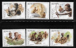 Angola 1995 Tribal Culture Sc 924-929 MNH A487