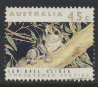 Australia SG 1317  Used  - Threatened species Squirrel Glider