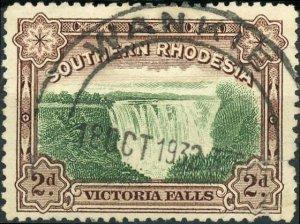 Southern Rhodesia #31 2p Victoria Falls Used