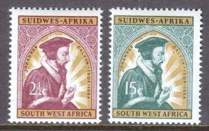 South West Africa - Scott #298-299 - MH - SCV $4.25
