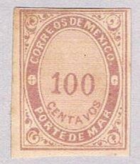 Mexico JX31 MLH Numeral 100 1879 (BP50921)