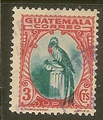Guatemala    Scott 274     Bird     Used