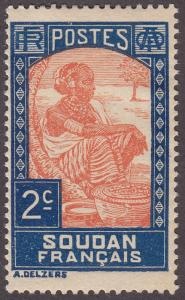 French Sudan 62 Sudanese Woman 1931