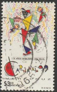 MEXICO 2114, Veracruz Carnival. USED. VF.