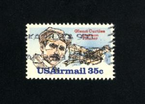 USA # C100  1 used  1980 PD .08