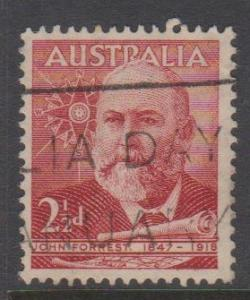 Australia Sc#227 Used Australia Day Cancel