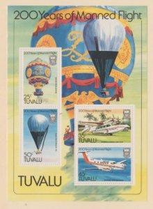 Tuvalu Scott #211a Stamps - Mint NH Souvenir Sheet