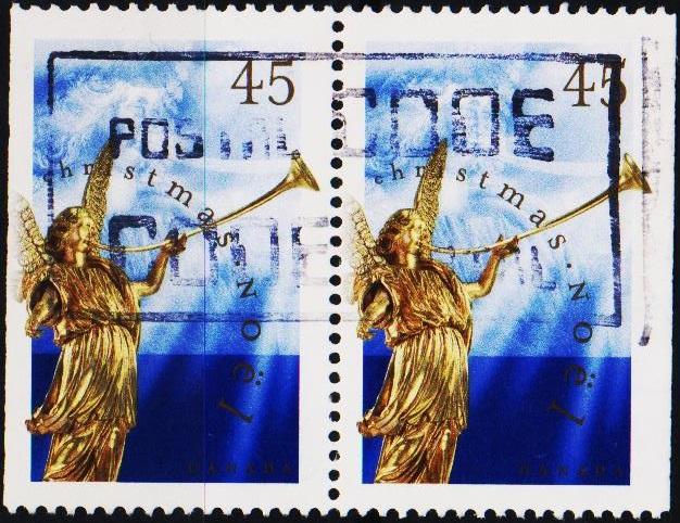 Canada. 1998 45c(Pair) S.G.1859 Fine Used