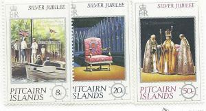 Pitcairn Islands #160-162  (MNH) CV$1.55