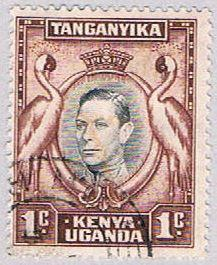 Kenya Uganda and Tanzania 66 Used Cranes 1938 (BP3429)