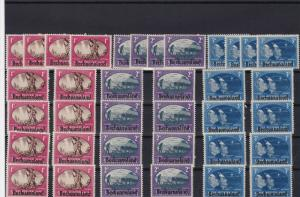 stamps of bechuanaland mint never hinged ref r12171
