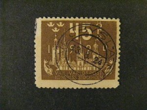 Sweden #205 used  a21.9 3240