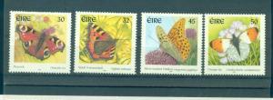 Ireland - Sc# 1262-5. 2000 Butterflies. MNH $4.95.