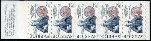 HERRICKSTAMP SWEDEN Sc.# 1453 Twin to USA Stamp Booklet #2036 Mint NH