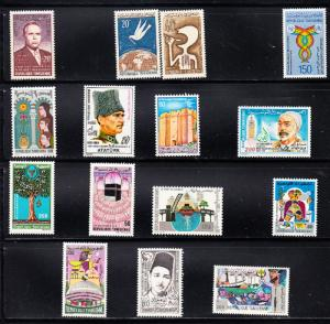 TUNISIA Collection of 15 Mint NH stamps