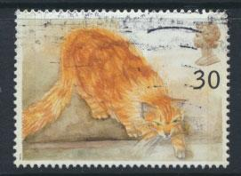 Great Britain SG 1850  Used    - Cats