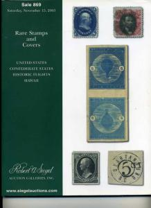 Siegel Stamp Sales featuring many one of a kind items