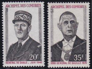 Comoro Islands 104-105 MNH (1971)
