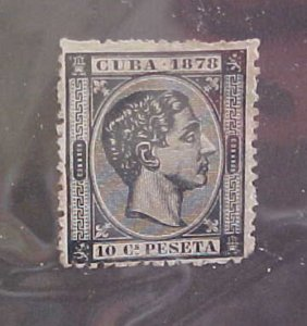 CUBA STAMP #77  MINT NO GUM  cat.$100.00