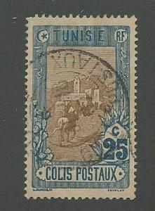 Tunisia Scott Catalog Number Q4  Issued in 1906