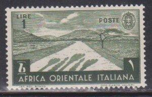 ITALIAN EAST AFRICA Scott # 12 MH