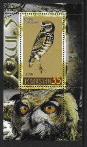 2006    TATARKSAN - OWLS  -  MNH