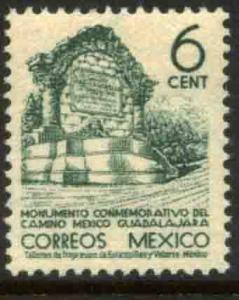 MEXICO 789 6cts 1934 Definitive Wmk S.H.C.P. MINT, NH. F-VF.
