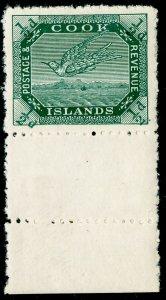 COOK ISLANDS SG39, ½d dp green, NH MINT. Cat £11.