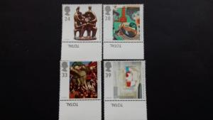 Great Britain 1993 EUROPA Stamps - Contemporary Art Mint