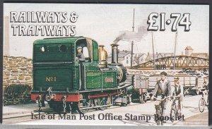 Isle of Man 358f MNH Booklet Pane