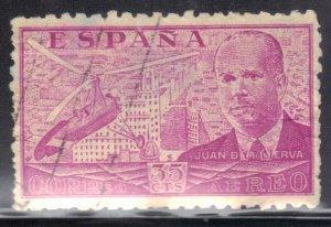 SPAIN SC# C102 **USED** 1939 AIRMAIL  35c  SEE SCAN
