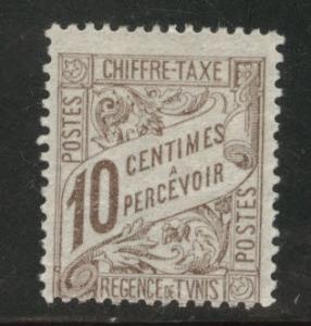 Tunis Tunisia Scott J4 MH* 1901 postage dues