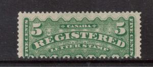 Canada #F2 Mint