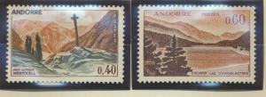 Andorra (French Administration) Stamps Scott #165 To 166, Mint Hinged - Free ...