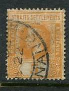 Straits Settlements #186 Used
