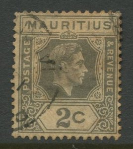 STAMP STATION PERTH Mauritius #211 KGVI Definitive Issue FU 1938-43