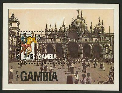 Gambia 875 MNH Architecture, Sports, Soccer