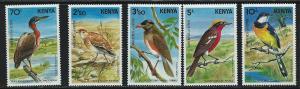 Kenya SC288-292 Rare Local Birds-MNH 1984