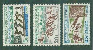 Ivory Coast 193-95 MH BIN$ 2.00