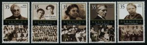 Bermuda 933-7 MNH Pioneers of Progress