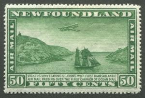NEWFOUNDLAND C10 MINT F/VF