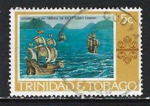 TRINIDAD & TOBAGO 262 VFU COLUMBUS H1246-5