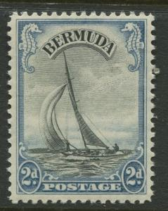 Bermuda - Scott 108 - Pictorial Definitives -1936 - MLH - Single 2p Stamp