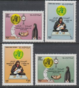 Yemen 520-523 MNH VF