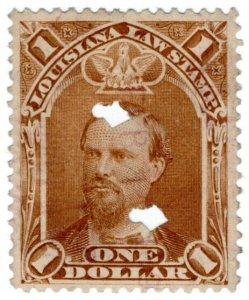 (I.B) US Revenue : Law Stamp $1 (Louisiana)